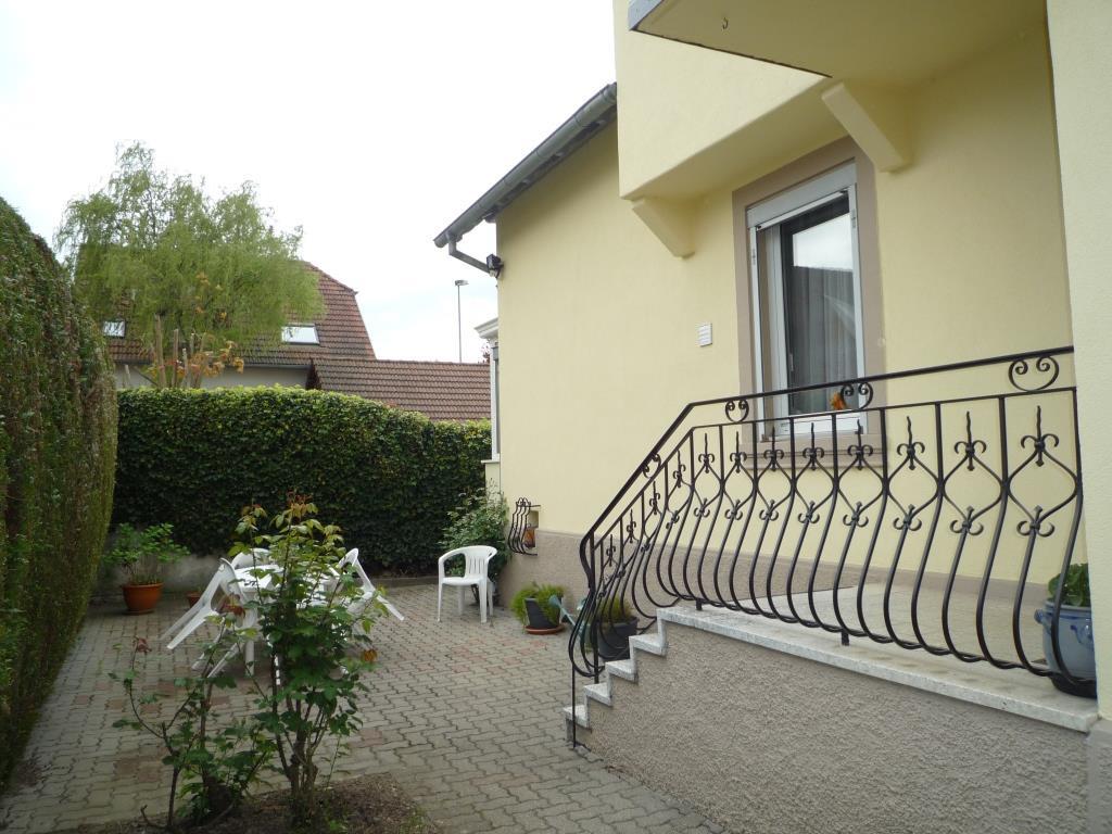 Vente oberhausbergen maison 166 m sur 2 niveaux jardin for Jardin 2 niveaux
